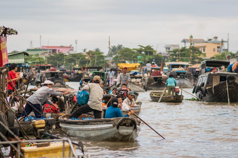 Le marché flottant bat son plein à Can Tho