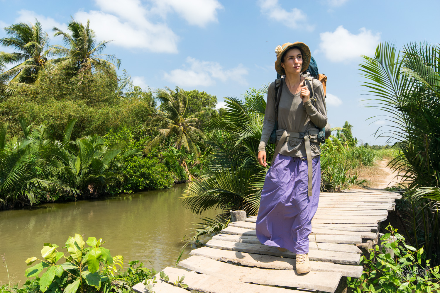 Wandering and dreaming in the Mekong delta