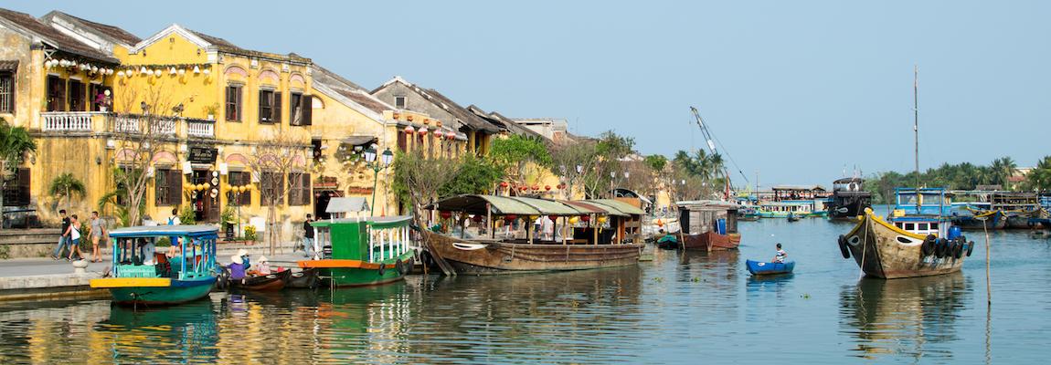 Vietnam - Hoi An, la cité jaune