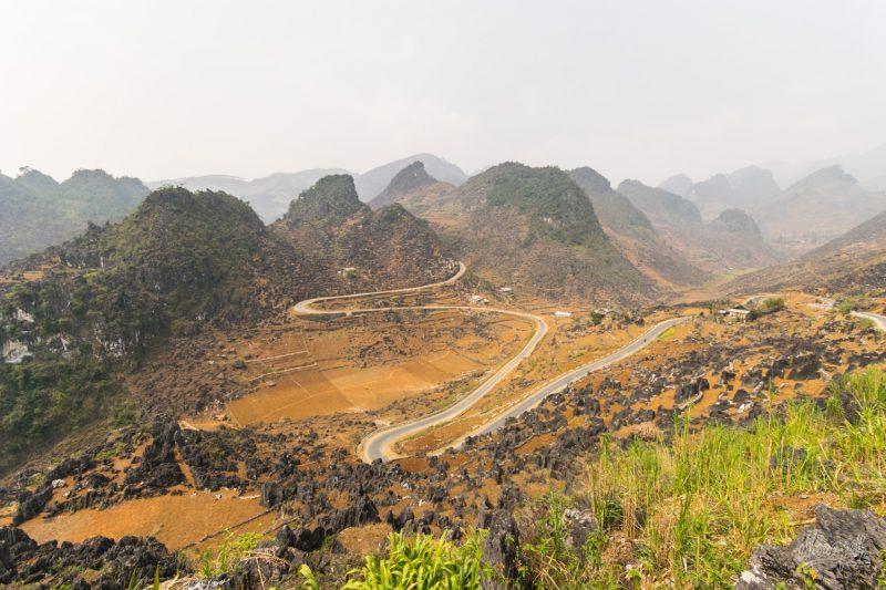 La Fameuse Route De La Vallée En M De La Région De Ha Giang