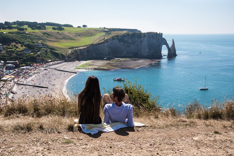 Vacances en amoureux à Etretat