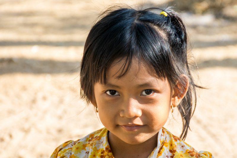 La Fillette Khmer