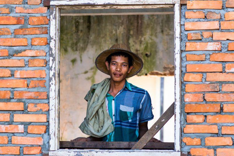 Le Maçon Birman