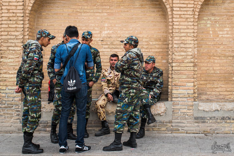 Perse et police - Iran touristique et sécurité