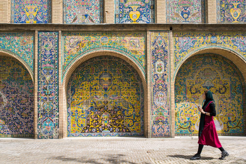 Iran - Teheran - Palais Golestan