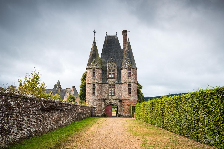 LA porte du château de Carrouges