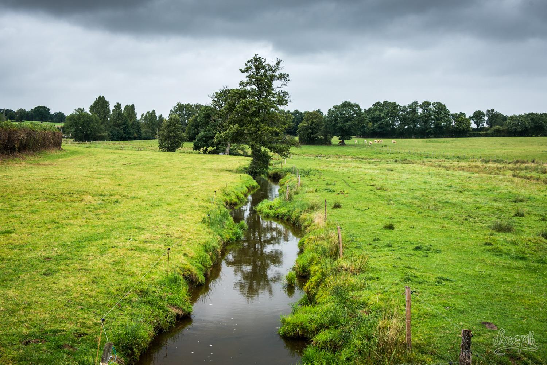 Admirer le paysage normand, entre deux averses avec de belles lumières