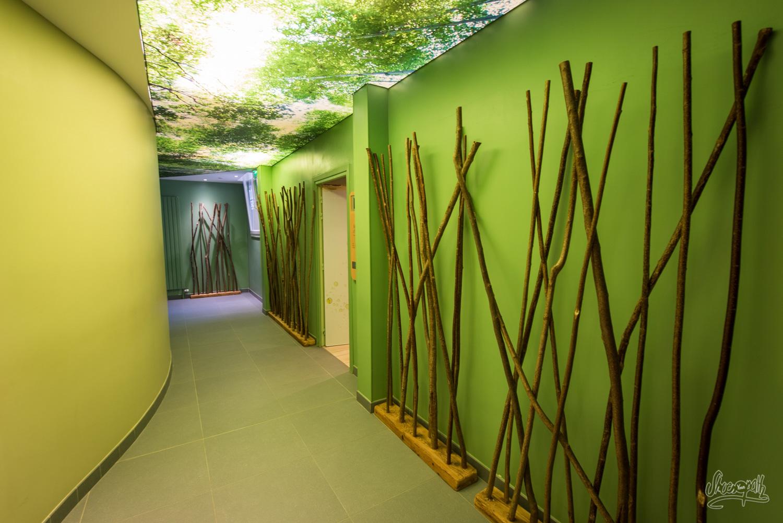 Dans les couloirs de B'O Spa