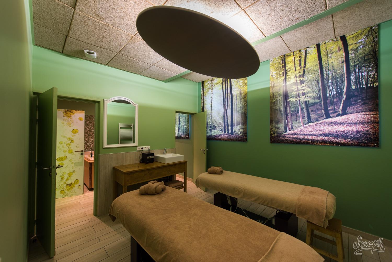 Salle de massage de B'O Spa de Bagnoles-de-l'Orne