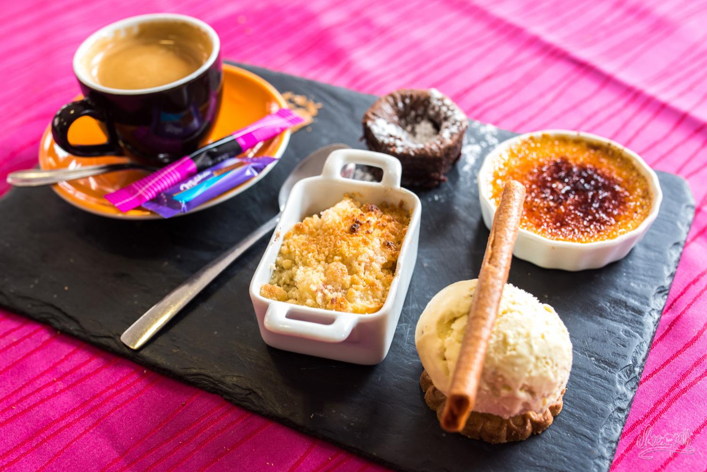 Café gourmand du Bistrot Saint-Julien