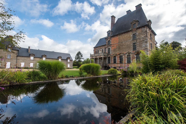 Le château des Montgommery à Ducey