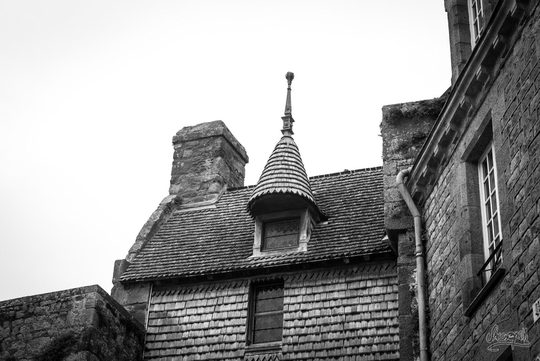Les vieilles maisons du Mont Saint-Michel
