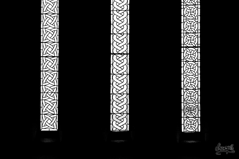 Les vitraux du réfectoire