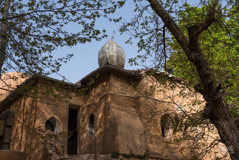 Restes d'une église orthodoxe russe à Ghalat, Iran