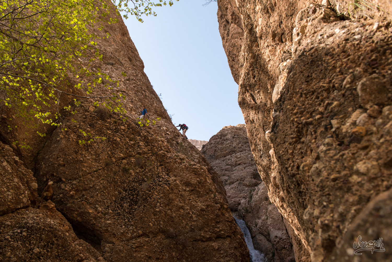 Randonnée à Ghalat, Iran