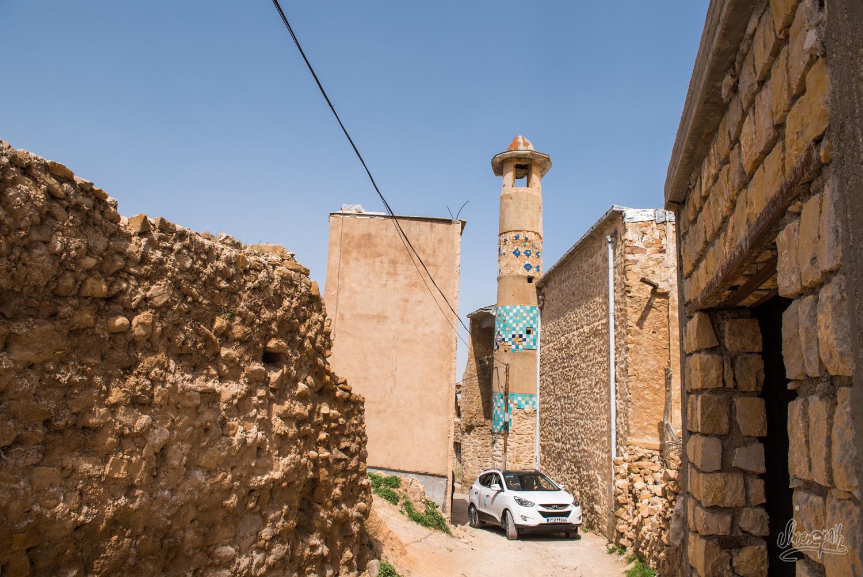 Dans les ruelles de Ghalat, Iran