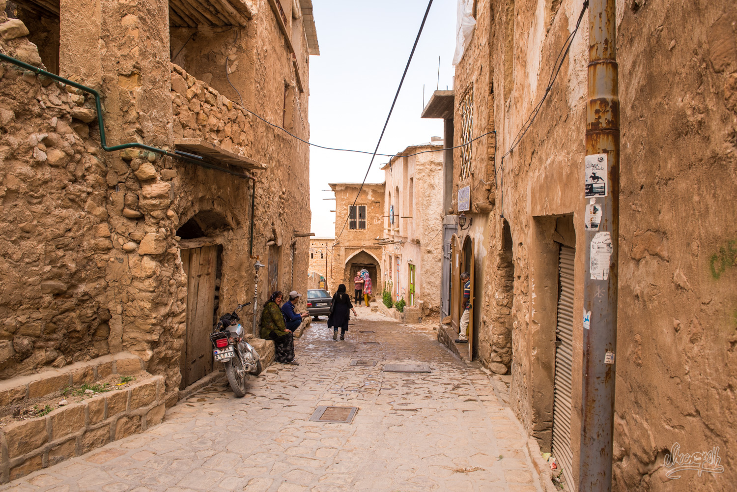 In the old streets of Ghalat