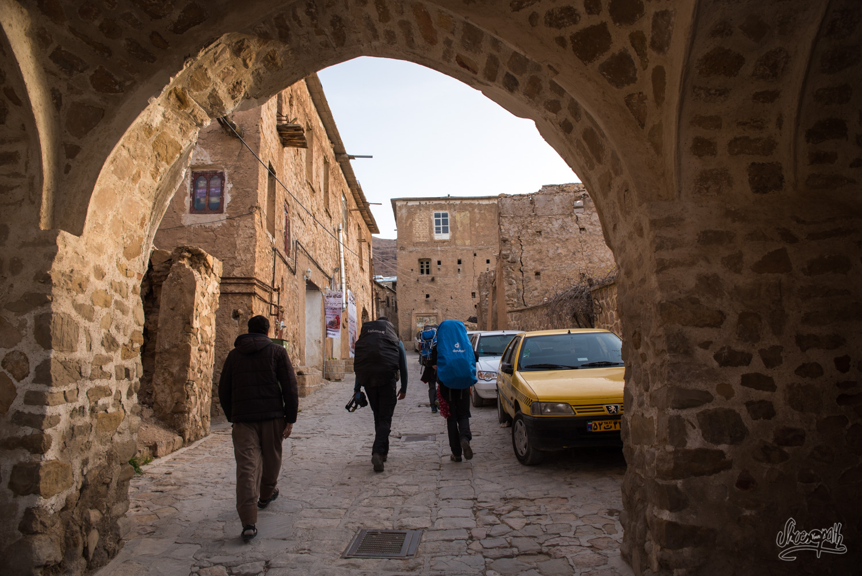 En arrivant à Ghalat, en fin de journée. - Iran