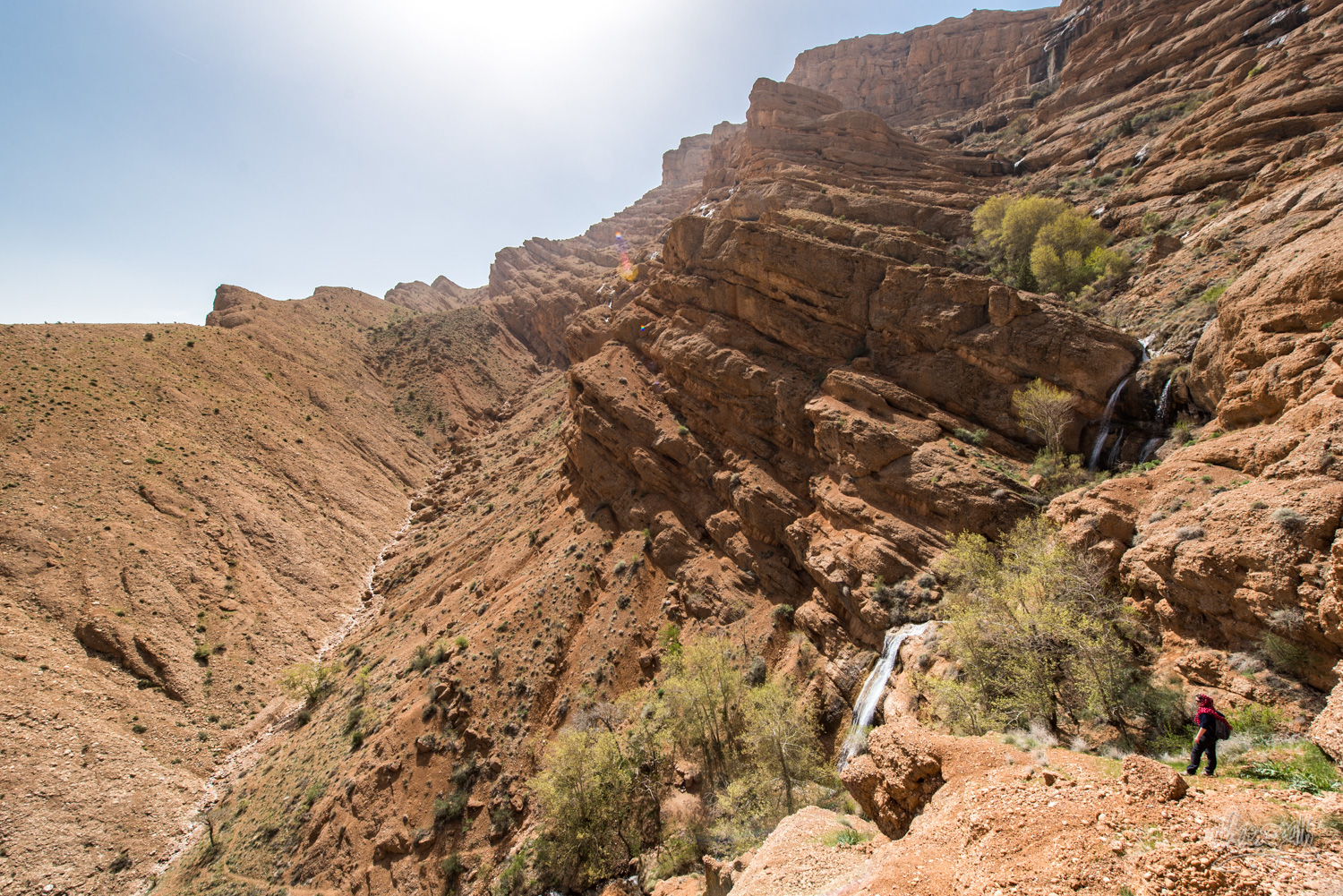 Hiking in the mountains behind Ghalat