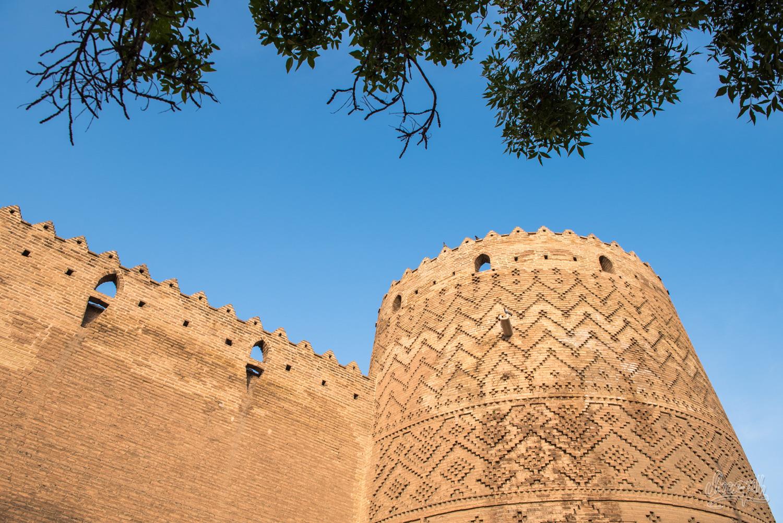 La citadelle de Karim Khan à Shiraz