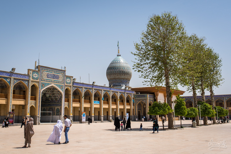 Le mausolée de Shah Cheragh à Shiraz