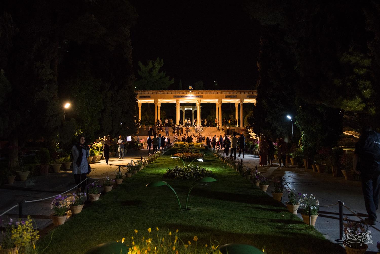 Le parc d'Hafez à Shiraz