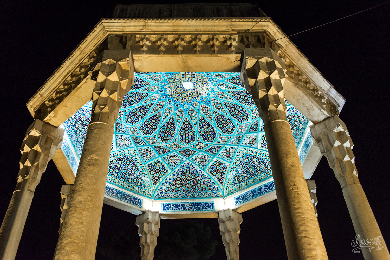 La tombe d'Hafez à Shiraz