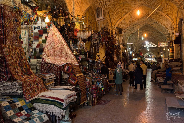 Le bazar de Shiraz