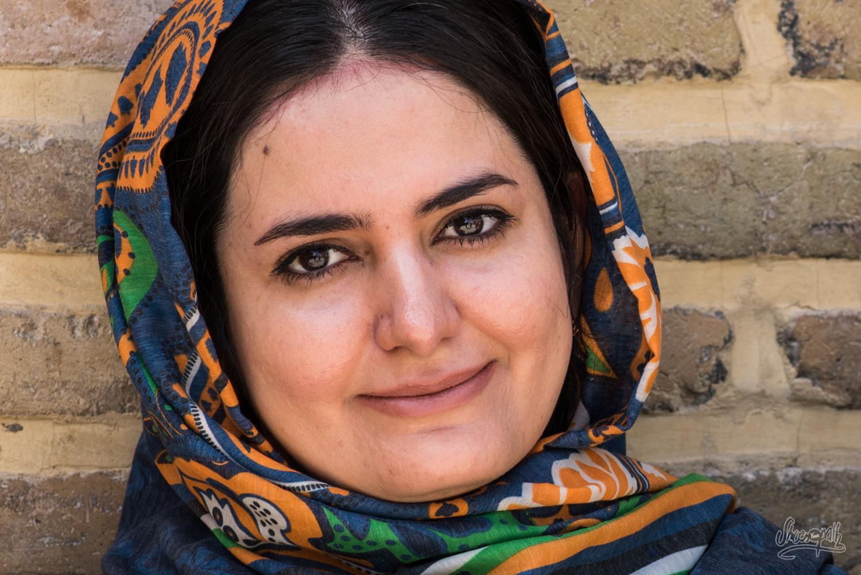Portrait d'Iran - Jeune étudiante sortie de l'université
