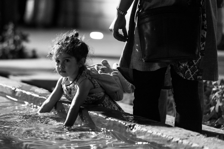 Portrait d'Iran - Jeu d'eau nocturne au parc d'Hafez