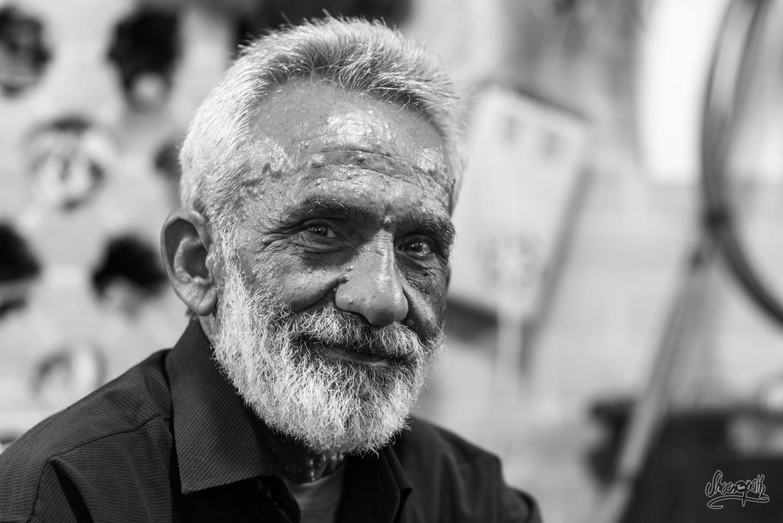 Portrait d'Iran - Un joaillier du bazar de Shiraz