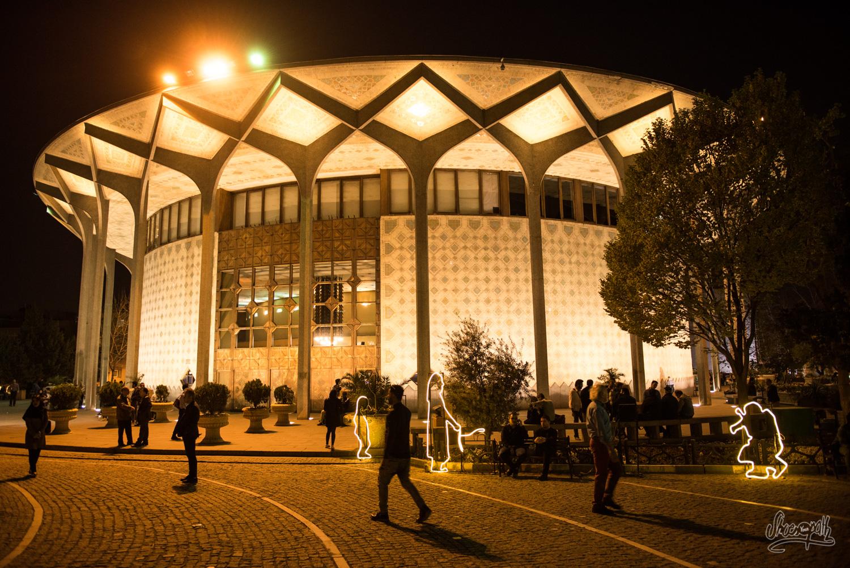 Le Teatr-e Shahr, La Nuit.