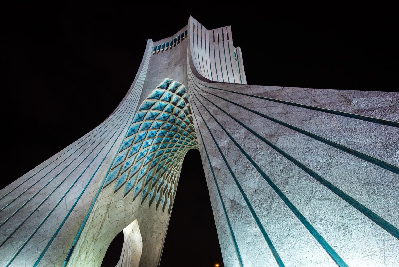 La Tour Azadi, Symbole De Téhéran Et D'Iran