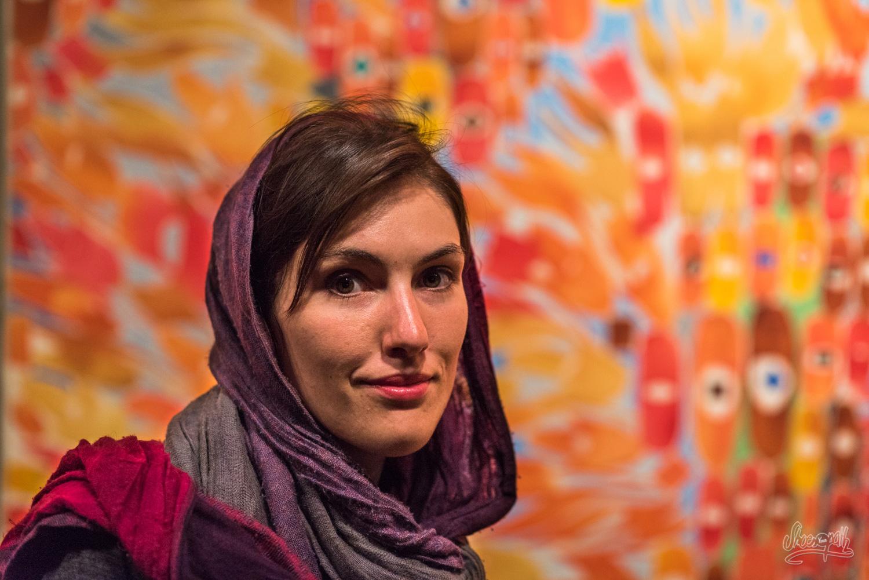 Mariette Au Musée D'art Contemporain De Téhéran, Iran