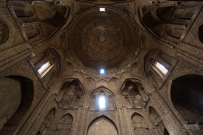 Grande voute de la Jameh mosque