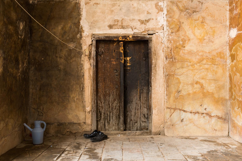 Portes des arrières cours de la Shah mosque