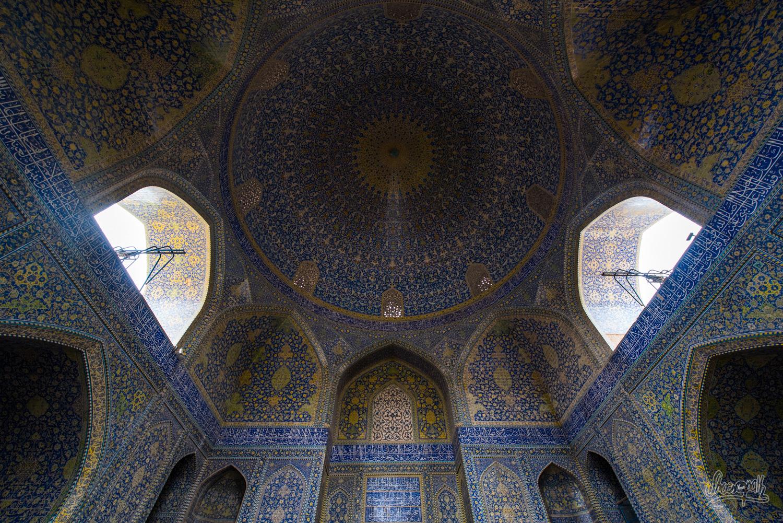 Grande voute de la Shah mosque