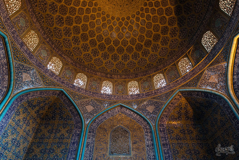 Mosaïques de la mosquée Sheikh Lotfallah