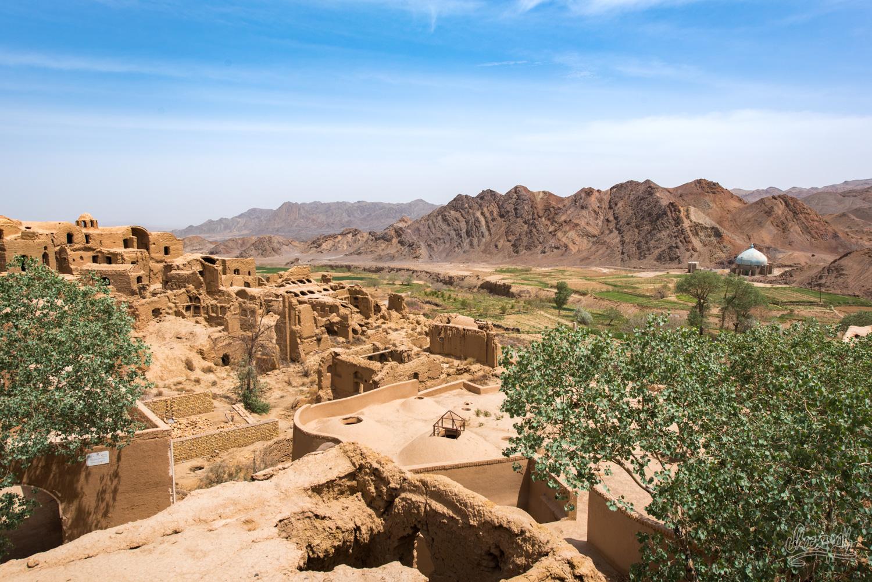 Village historique abandonné de Kharanaq