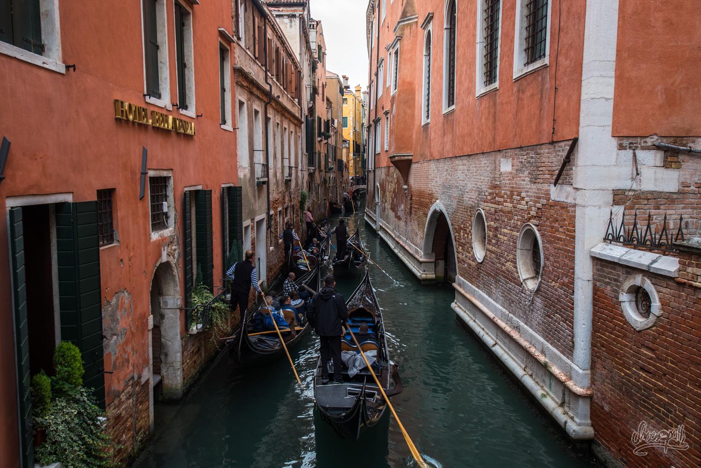 Venise, ruelles et canaux