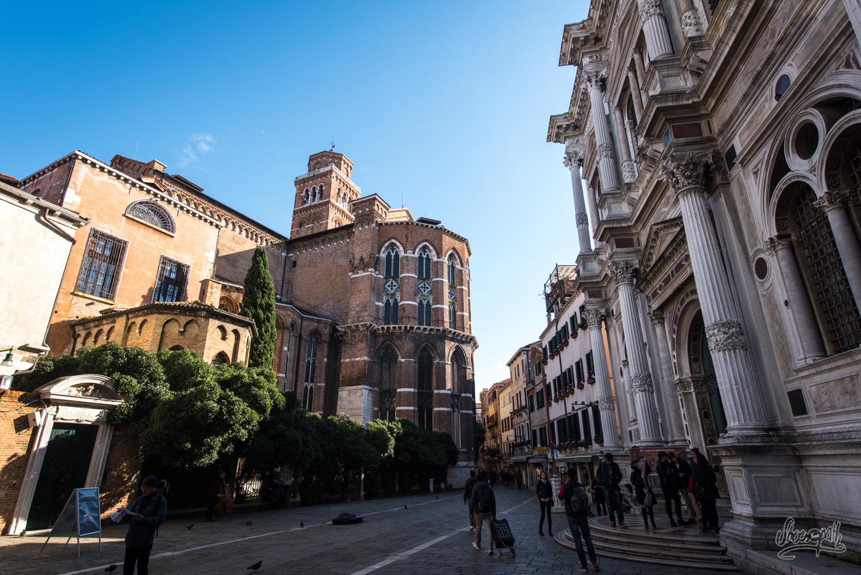 La basilique Santa Maria Gloriosa dei Frari