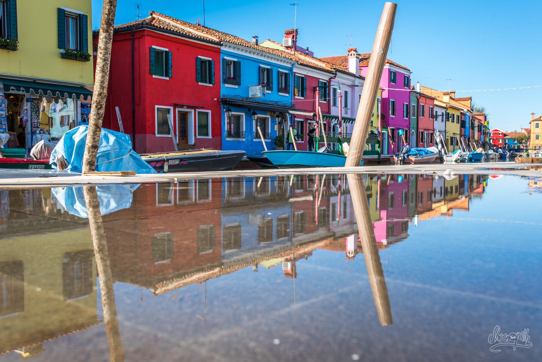 Reflets à Burano