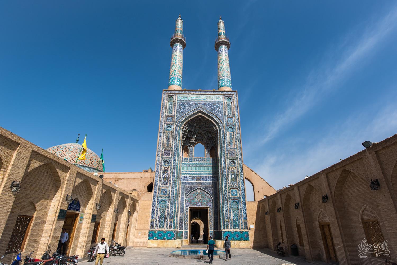 La Jameh mosque de Yazd