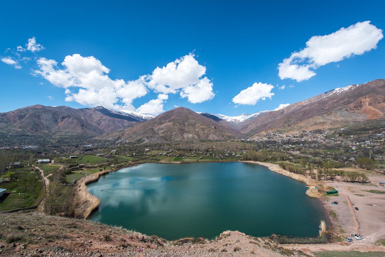 Evan Lake, dans la vallée d'Alamut