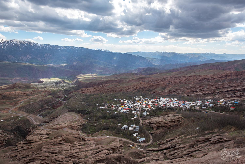 Le château des assassins, dans la vallée d'Alamut