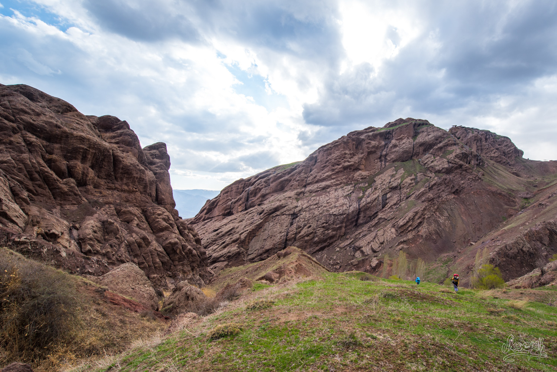 Randonnée à Alamut, la vallée des assassins