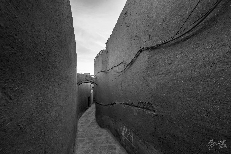 Les ruelles du vieux centre de Yazd