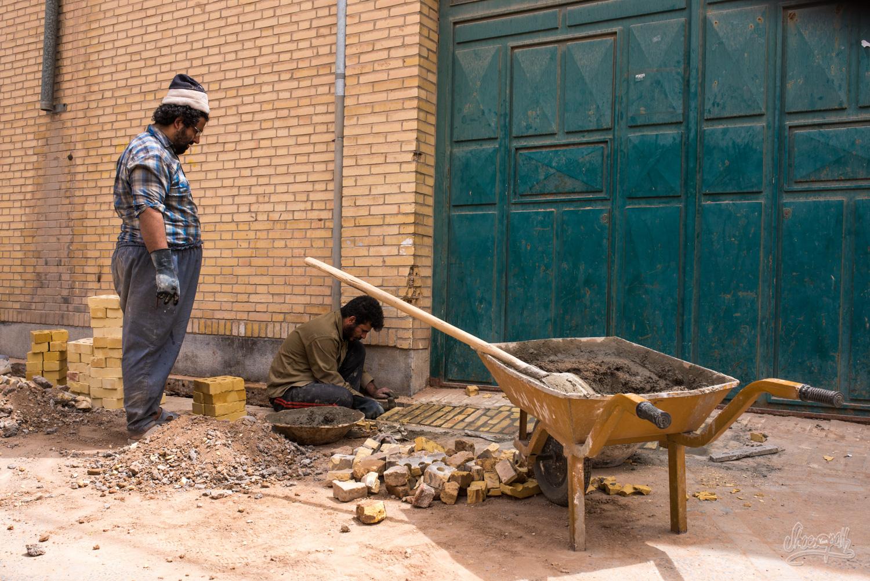 Dans les rues de Yazd...