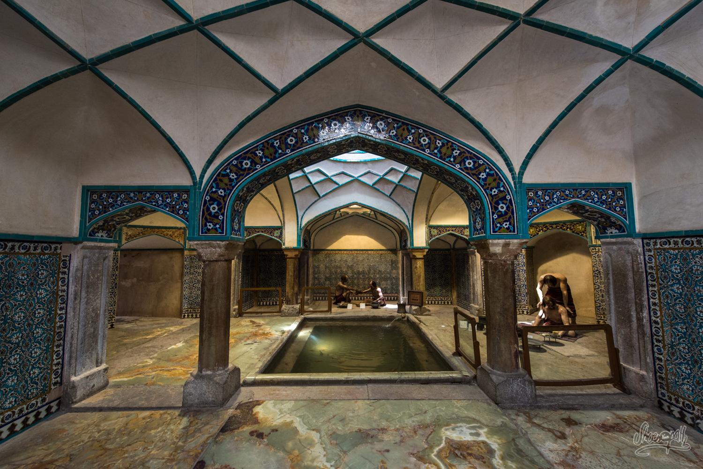 Les anciens bains publics de Kerman