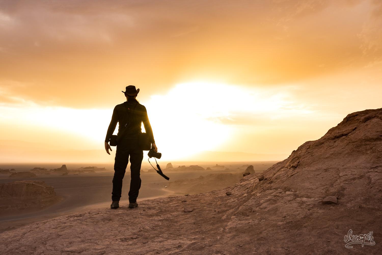 On a rencontré John Wayne dans les Kalut du désert de Lut